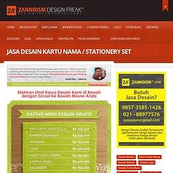 Jasa Desain Kartu Nama / Stationery Set Elegan