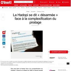 La Hadopi se dit « désarmée » face à la complexification du piratage