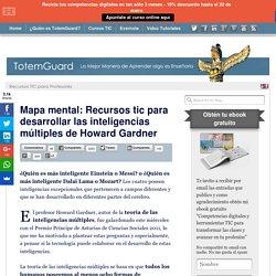 Recursos tic para desarrollar las inteligencias múltiples de Howard Gardner