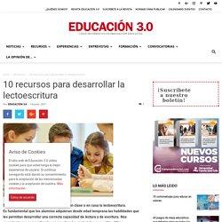 10 recursos para desarrollar la lectoescritura