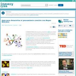 Apps para desarrollar el pensamiento creativo con Mapas Mentales