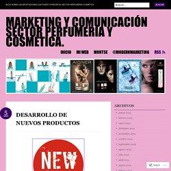 Marketing y Comunicación sector perfumería y cosmética.