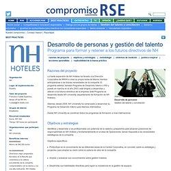 Desarrollo de personas y gestión del talento - Gestión del talento y conciliación - Best practice - Compromiso RSE