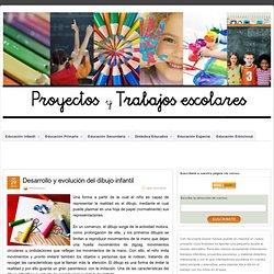 Desarrollo y evolución del dibujo infantil » Proyectos y trabajos escolares