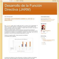 Desarrollo de la Función Directiva (JARM): mayo 2017
