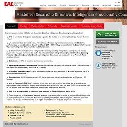 Master en Desarrollo Directivo, Inteligencia emocional y Coaching - EAE