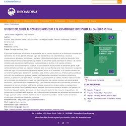 Ocho tesis sobre el cambio climático y el desarrollo sostenible en América Latina