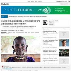 Talento masái: moda y ecodiseño para un desarrollo sostenible