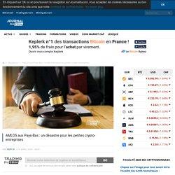 AMLD5 aux Pays-Bas : un désastre pour les petites crypto-entreprises