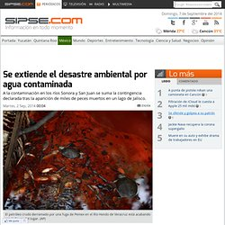 Suman cuatro desastres medioambientales en México