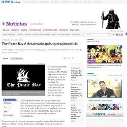 The Pirate Bay desativado ap s opera o policial