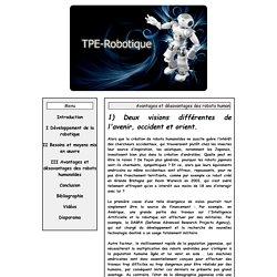 Avantages et désavantages des robots humanoïdes