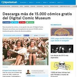 Descarga más de 15.000 cómics gratis
