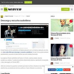 Descarga y escucha audiolibros - NeoTeo