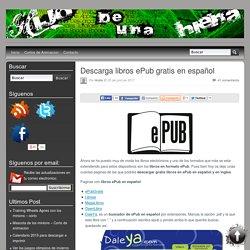 Descarga libros ePub gratis en español