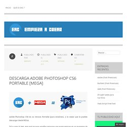 Empieza a Crear _ Blog: Descarga Photoshop CS6 Portable