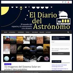 72 imágenes del Sistema Solar en pósters descargables