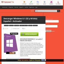 Descargar Windows 8.1 (32 y 64 bits) Español + Activador