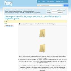 Descargar Colección de juegos clásicos PC + Emulador MS-DOS [Español] gratis