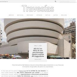 Más de 200 libros de arte para descargar (gratis) cortesía del Guggenheim