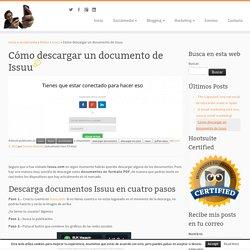 Cómo descargar un documento de Issuu - Carmen Grimaldi