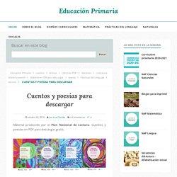 Cuentos y poesías para descargar - Educación Primaria