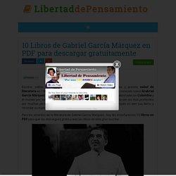 10 Libros de Gabriel García Márquez en PDF para descargar gratuitamente