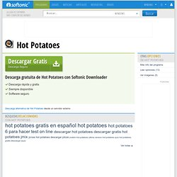 Descargar Hot Potatoes gratis