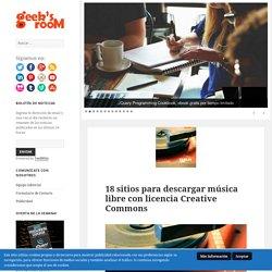 18 sitios para descargar música libre con licencia Creative Commons