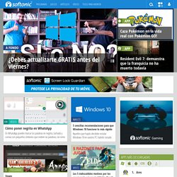 Descargar software, programas gratis para PC, juegos para PC - Softonic