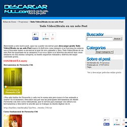 Descargar Todo Video2Brain en un solo Post Gratis por megaupload, mediafire y rapidshare