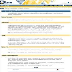 Web Eustat. Descargas de programas informáticos