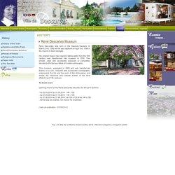 René Descartes Museum Site officiel de la Ville de Descartes - Indre-et-Loire (37) - FRANCE
