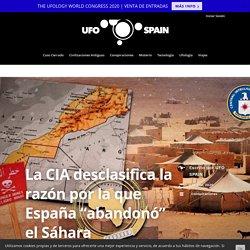 """La CIA desclasifica la razón por la que España """"abandonó"""" el Sáhara"""