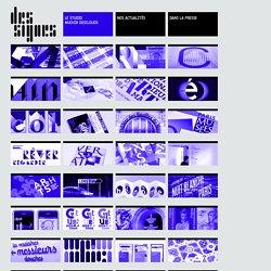 DES SIGNES – Muchir et Desclouds - Studio de graphisme à Paris – AFFICHES