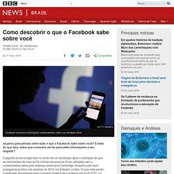 Como descobrir o que o Facebook sabe sobre você - BBC News Brasil