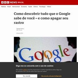 Como descobrir tudo que o Google sabe de você – e como apagar seu rastro - BBC News Brasil
