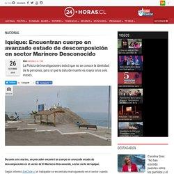 Iquique: Encuentran cuerpo en avanzado estado de descomposición en sector Marinero Desconocido