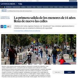 Imágenes del desconfinamiento de los niños en calles españolas