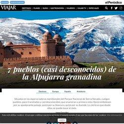 7 pueblos (casi desconocidos) de la Alpujarra granadina