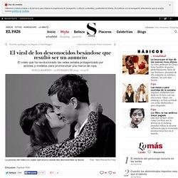 El viral de los desconocidos besándose que resultó ser un anuncio