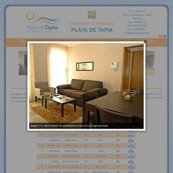 Descripción de los Apartamentos - Apartamentos Turísticos Playa de Tapia, en Tapia de Casariego, Asturias.