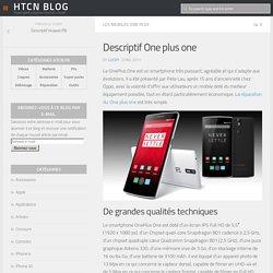 Descriptif One plus one - HTCN Blog