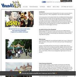 Description complète de notre journée à Disney et accessibilité aux personnes à mobilité réduite