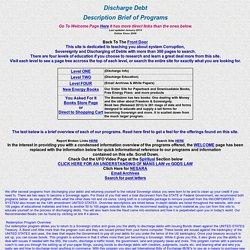 Description Brief of Programs