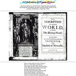 Margaret cavendish the blazing world essay