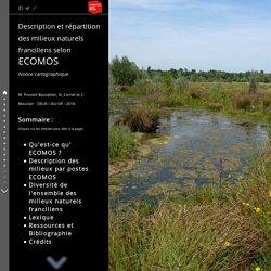 Description et répartition des milieux naturels franciliens selon ECOMOS Notice cartographique