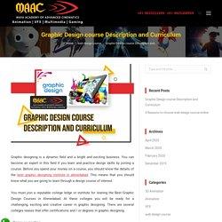 Graphic Design course Description and Curriculum
