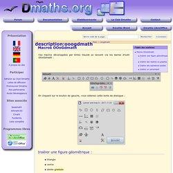 description:ooogdmath [Documentation Dmaths]