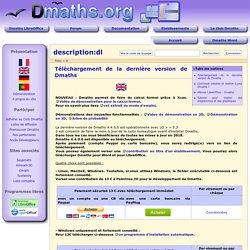 description:dl [Documentation Dmaths]